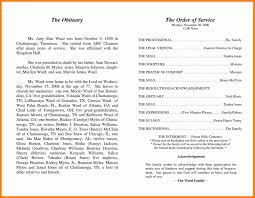 sle funeral program template obituary template for ideas entry level resume