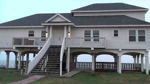 Beach House In Galveston Tx Beach Front Vacation Rental Galveston Tx Youtube