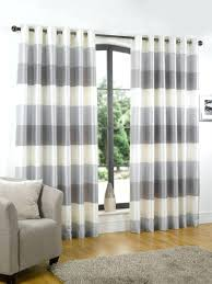 striped window curtains tulle or blackout curtain kitchen door