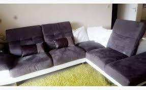 canapé daim canapé d angle en daim annonce meubles et décoration la réunion