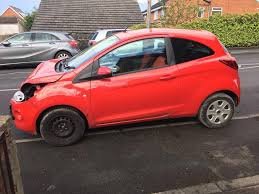 2014 64 ford ka 1 4 edge 3 door red petrol damage salvage repair