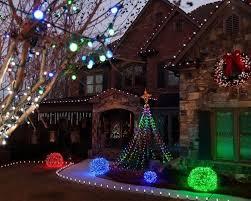 Outdoor Light Decorations Creating Led Light Balls Unique Outdoor Decorations