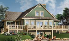 small lakefront house plans 53 house plans with walkout basement lake house plans walkout