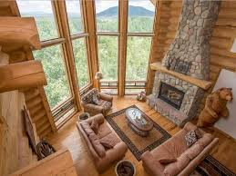 beautiful log home 4 master suites privat vrbo