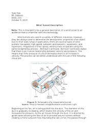 wind tunnel description wind tunnel aerodynamics