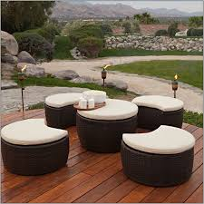 Patio Chair With Ottoman Patio Chairs With Pull Out Ottoman Creativity Pixelmari Com