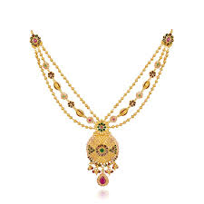 image gold necklace images Best gold necklace designs catalogue a royal style jpg