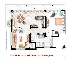 popular house floor plans artist sketches the floor plans of popular tv homes design