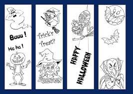 8 best images of printable halloween bookmarks printable