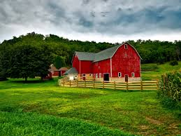 barnhouse red brown and grey barn house free image peakpx