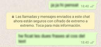 hotmail y los mensajes en el movil llegan los mensajes de whatsapp con cifrado de extremo a extremo