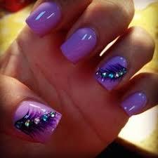 purple tip nails nails pinterest
