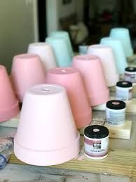 what type of paint do you need for kitchen cabinets how to paint terra cotta pots at home with the barkers