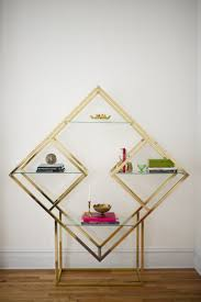 Triangle Shaped Bookcase Geometric Shelves U2013 Simple Yet Eccentric And Great For Every Room