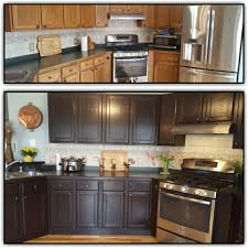 gel stain kitchen cabinets before and after java gel kitchen cabinets general finishes design center
