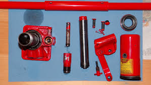 Sears Hydraulic Jack Parts by Disassembling Of A Hydraulic Jack How To Youtube