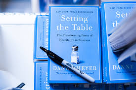 setting the table book an evening with danny meyer and carmen quagliata cook