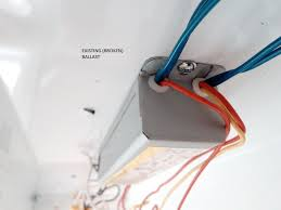 replacing wiring fluorescent ballast extra wires redflagdeals