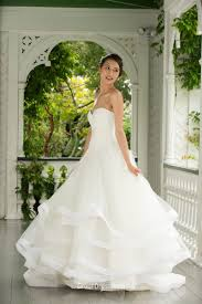 organza wedding dress a line strapless lace organza wedding dress