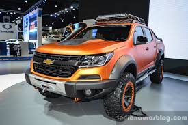 opel colorado chevrolet colorado xtreme front quarter at 2016 bims indian
