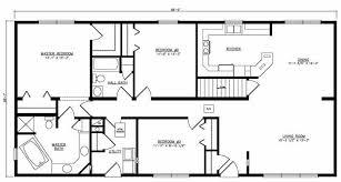 floor plans with basements opulent design ranch house plans with basement basements ideas