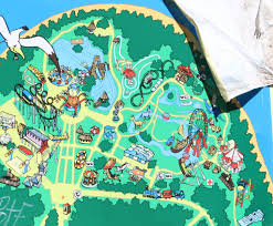 Orlando Theme Parks Map by Spree Park Map Berlin Map Pinterest Abandoned Amusement