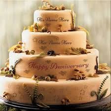 write name on cakes bracelets jewellery and anniversary cakes