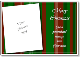 personalized christmas cards christmas card templates add your own photo printable christmas