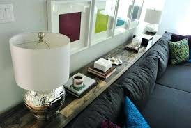 console table behind sofa against wall beautiful long table behind couch or sofa table design behind the