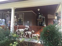 100 halloween decorated houses long island america u0027s