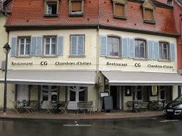 chambres d hotes selestat le cg restaurant à sélestat