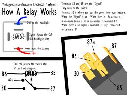 headlight relays timbo u0027s vw technotes