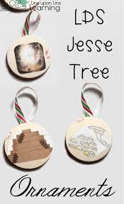 lds tree advent ornaments