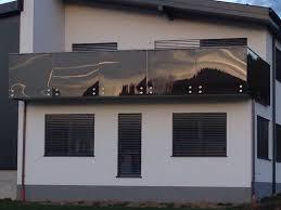 glas balkon balkon mit glas mit farbe getönt hillerzeder