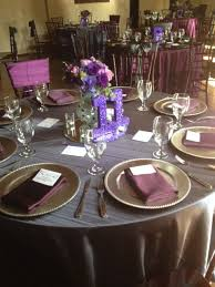 eggplant colored table linens 212 best wedding images on pinterest wedding inspiration wedding