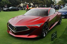 acura acura precision concept nabs spot on the pebble beach concept lawn