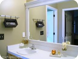 Wood Frames For Bathroom Mirrors - remarkable how to make frame for bathroom mirror how to turn a