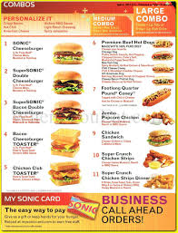 Sonic Chicken Club Toaster Sonic Drive In American Restaurant In Staten Island 10309