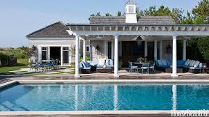 home blue backyard elegant modular shape of backyard landscaping ideas