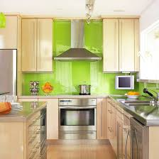green kitchen tile backsplash lime glass subway