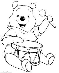 winnie pooh coloring pages kids 14679 bestofcoloring