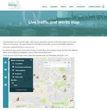 map uk org utility trade association works uk embeds roadworks org