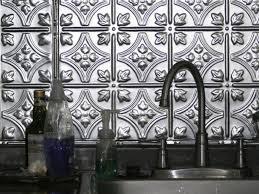 charming modest silver tin backsplash tiles faux tin backsplash