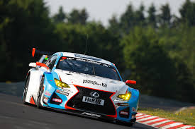 2015 lexus rc debuts at lexus rc f gt3 snatches class victory on vln series debut