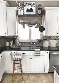 farmhouse kitchen christmas decor ig bless this nest dream