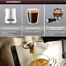 gastroback 42612 design espressomaschine advanced pro g gastroback design espresso machine advanced pro g s cookfunky