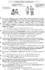 good grammar grade 10 grammar lesson 14 linking verbs complement