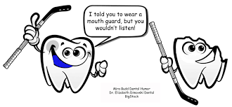 keep your teeth protected in sports activities funny dentist