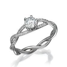 braided band infinity engagement ring white gold ring infinity band braided