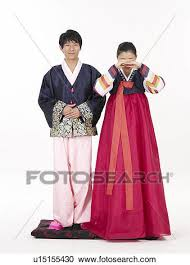 stock photography of traditional korean cloth asian traditional